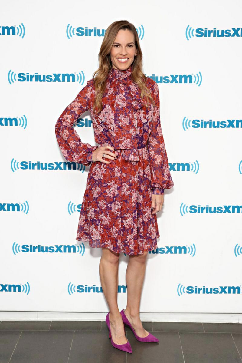 Hilary Swank at SiriusXM Entertainment Weekly Radio Spotlight with Hilary Swank in New York 2018/10/12 1