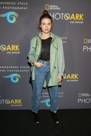 Holland Roden at National Geographic Photo Ark at Annenberg Space for Photography 2018/10/11 4