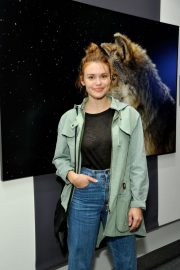 Holland Roden at National Geographic Photo Ark at Annenberg Space for Photography 2018/10/11 7