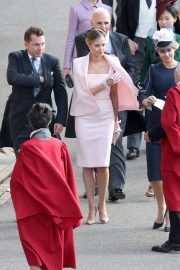 Holly Candy at Wedding of Princess Eugenie of York and Jack Brooksbank at ST. George's Chapel 2018/10/12 2