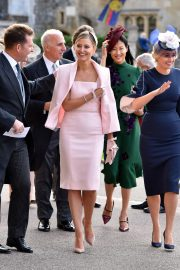 Holly Candy at Wedding of Princess Eugenie of York and Jack Brooksbank at ST. George's Chapel 2018/10/12 4