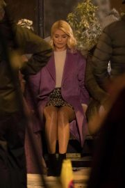 Holly Willoughby at Marks & Spencer Christmas Advert in London 2018/10/13 4