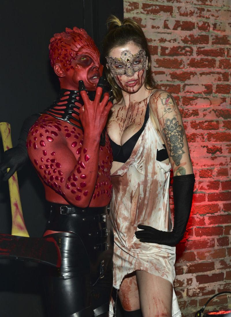 Ireland Baldwin at Just Jared Halloween Party in West Hollywood 2018/10/27 1