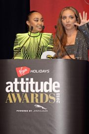 Jade Thirlwall and Leigh-Anne Pinnock at Attitude Magazine Awards in London 2018/10/11 7