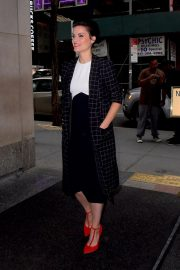 Jaimie Alexander Arrives at Today Show in New York 2018/10/11 2