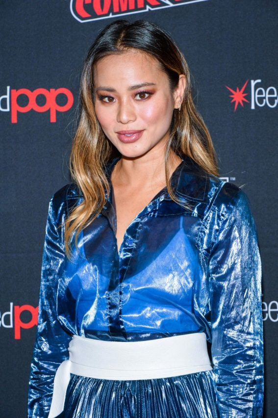 Jamie Chung at The Gifted Premiere at New York Comic Con 2018/10/07 1