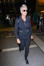 Jamie Lee Curtis at LAX Airport in Los Angeles 2018/10/21 1