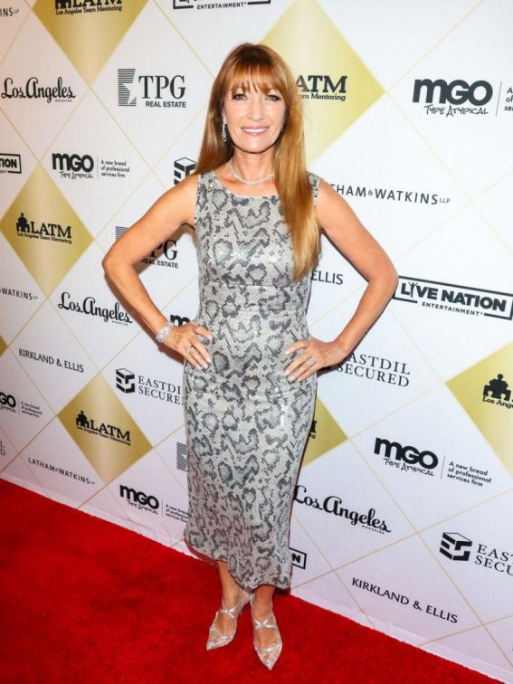 Jane Seymour at Los Angeles Team Mentoring's 20th Annual Soiree 2018/10/26 1