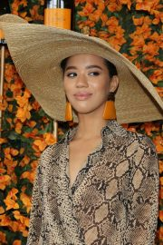 Jasmin Savoy Brown at 2018 Veuve Clicquot Polo Classic in Los Angeles 2018/10/06 2