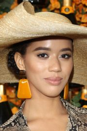 Jasmin Savoy Brown at 2018 Veuve Clicquot Polo Classic in Los Angeles 2018/10/06 3