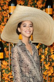 Jasmin Savoy Brown at 2018 Veuve Clicquot Polo Classic in Los Angeles 2018/10/06 4