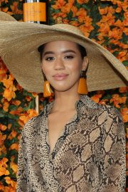 Jasmin Savoy Brown at 2018 Veuve Clicquot Polo Classic in Los Angeles 2018/10/06 7