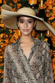 Jasmin Savoy Brown at 2018 Veuve Clicquot Polo Classic in Los Angeles 2018/10/06 9