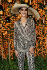 Jasmin Savoy Brown at 2018 Veuve Clicquot Polo Classic in Los Angeles 2018/10/06 10
