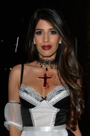 Jasmin Walia at a Halloween Party in London 2018/10/27 1