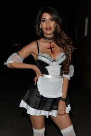 Jasmin Walia at a Halloween Party in London 2018/10/27 2