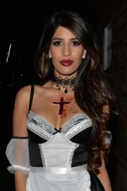 Jasmin Walia at a Halloween Party in London 2018/10/27 4