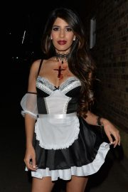Jasmin Walia at a Halloween Party in London 2018/10/27 8