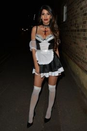 Jasmin Walia at a Halloween Party in London 2018/10/27 10