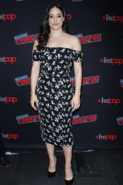 Jeanine Mason at Roswell, New Mexico Panel at New York Comic-con 2018/10/06 2