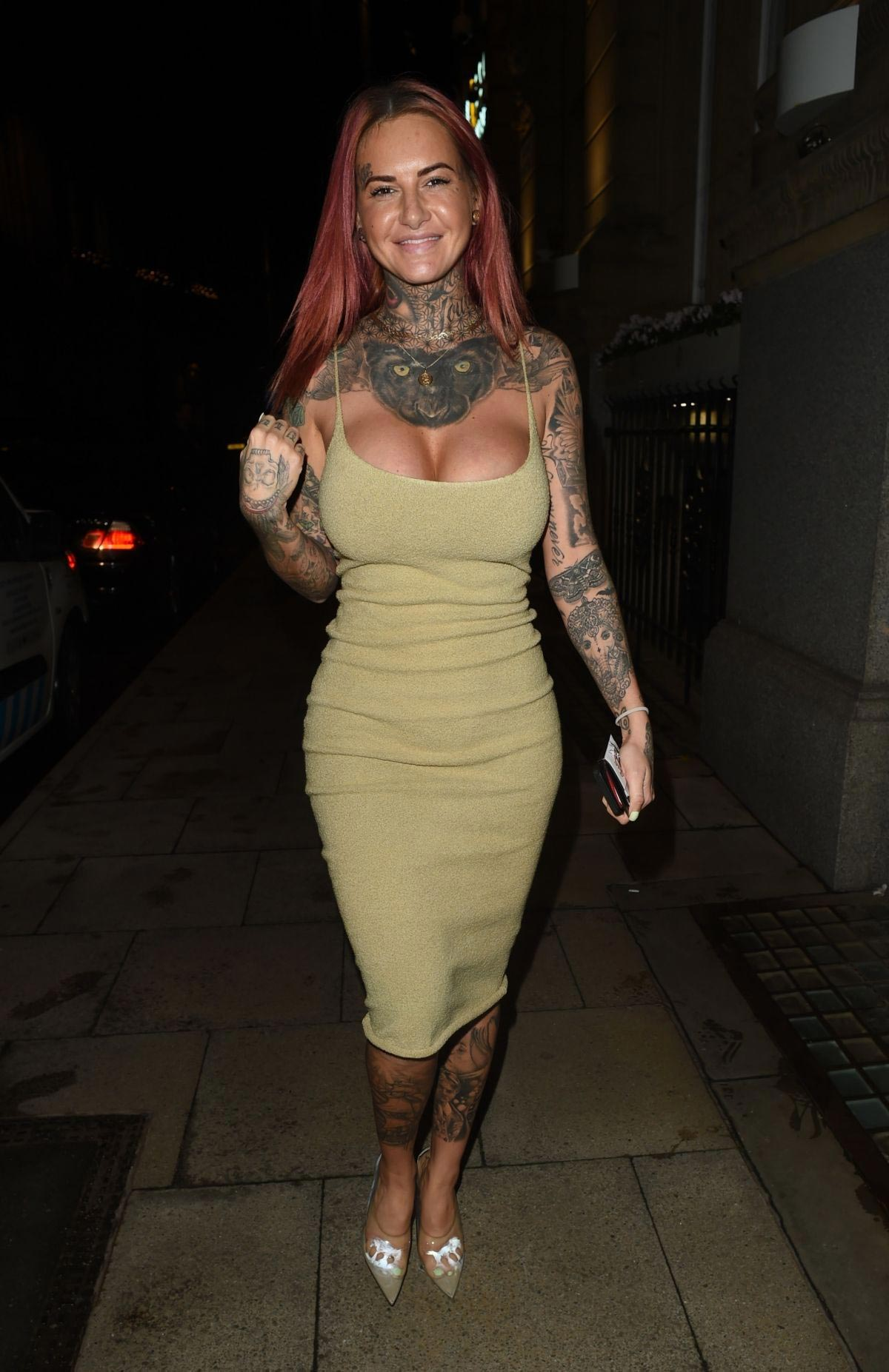 Jemma Lucy at Rosso Restaurant in Manchester 2018/10/11 1