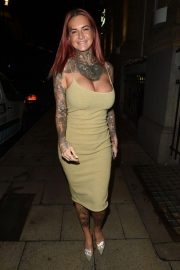 Jemma Lucy at Rosso Restaurant in Manchester 2018/10/11 4