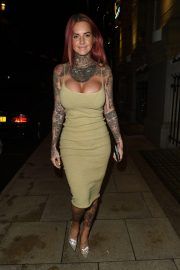 Jemma Lucy at Rosso Restaurant in Manchester 2018/10/11 6