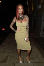 Jemma Lucy at Rosso Restaurant in Manchester 2018/10/11 7