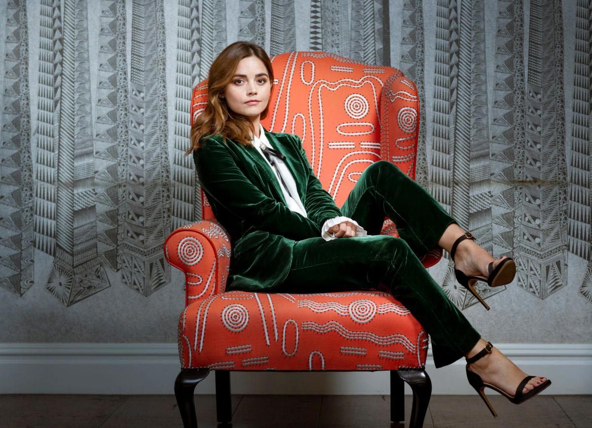 Jenna Coleman for The Telegraph, September 2018 1