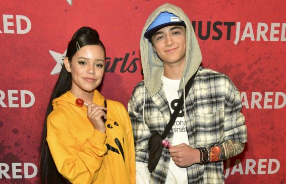 Jenna Ortega at Just Jared Halloween Party in West Hollywood 2018/10/27 1