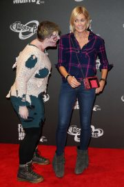 Jenni Falconer at Thorpe Park's Fright Nights at Chertsey 2018/10/04 1