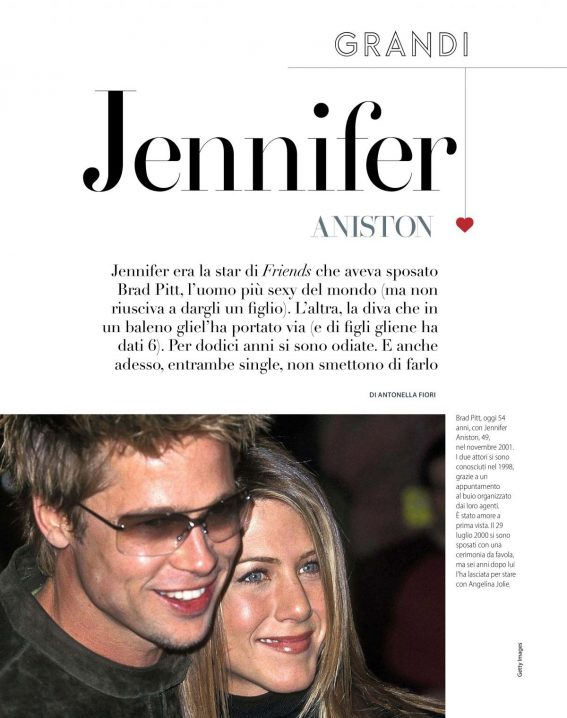 Jennifer Aniston and Angelina Jolie in F Magazine, N33 August 2018 1