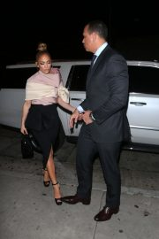 Jennifer Lopez and Alex Rodriguez Night Out in New York 2018/10/15 2