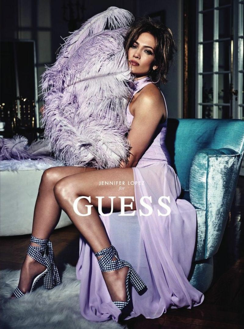 Jennifer Lopez for GUESS Spring 2018 Campaign 1
