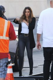 Jessica Alba and Gabrielle Union on the Set of L.A.'s Finest in Los Angeles 2018/10/25 6