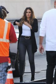 Jessica Alba on the Set of L.A.'s Finest in Los Angeles 2018/10/25 5
