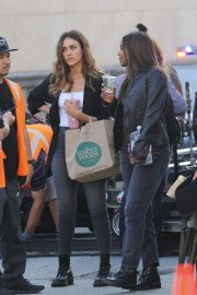 Jessica Alba on the Set of L.A.'s Finest in Los Angeles 2018/10/25 6