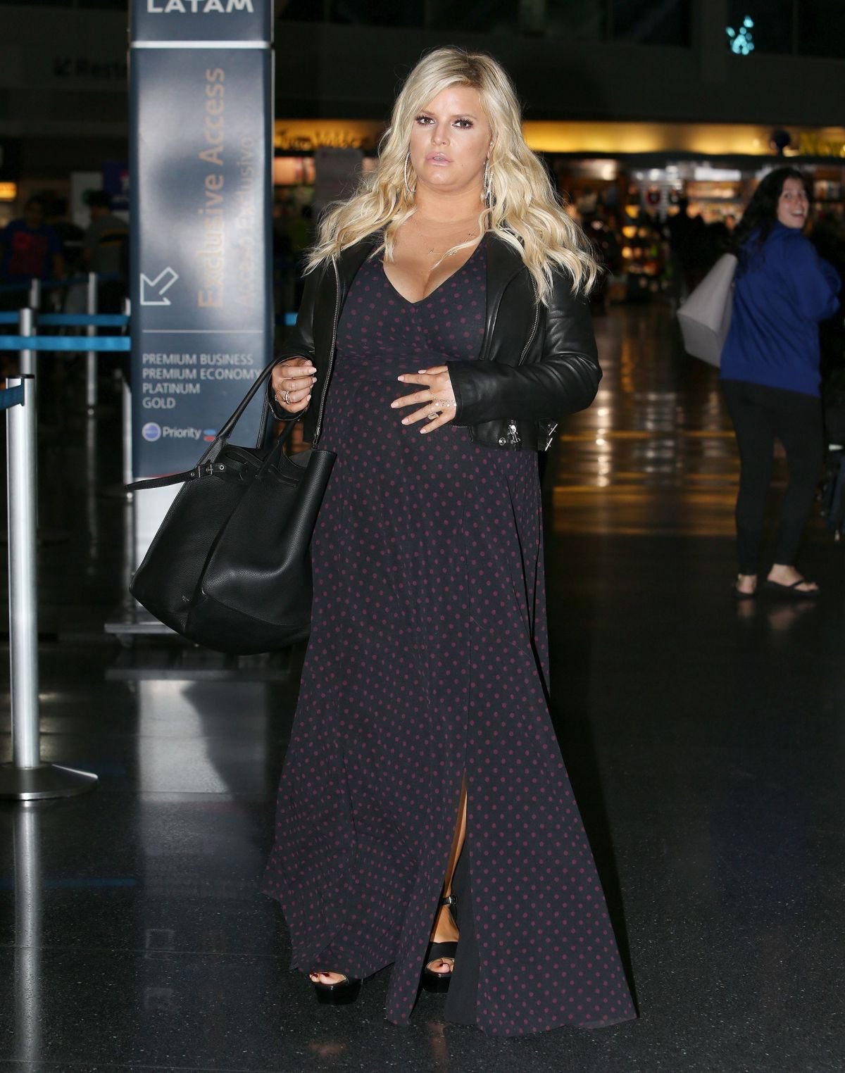 Jessica Simpson at JFK Airport in New York 2018/10/11 1