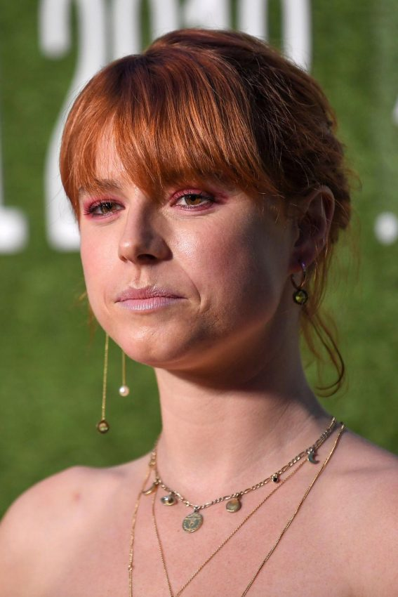 Jessie Buckley at Wild Rose Premiere at 2018 BFI London Film Festival 2018/10/15 1