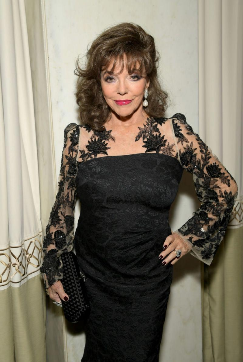 Joan Collins at GLSEN Respect Awards 2018 in Beverly Hills 2018/10/19 1
