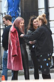 Jodie Comer on the Set of Killing Eve in London 2018/10/10 5