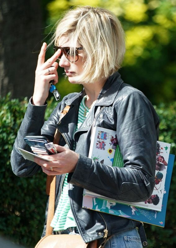 Jodie Whittaker Out and About in New York 2018/09/28 1