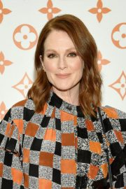 Julianne Moore at Louis Vuitton x Grace Coddington Event in New York 2018/10/25 3