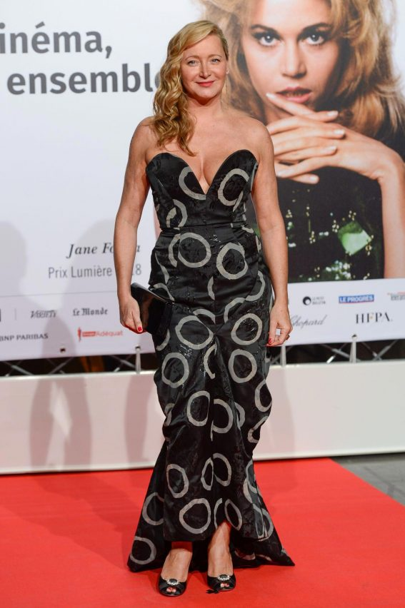 Julie Ferrier at 2018 Lumiere Festival Opening in Lyon 2018/10/13 1