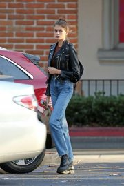 Kaia Gerber in Denim Out and About in Los Angeles 2018/10/07 2