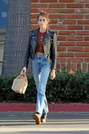 Kaia Gerber in Denim Out and About in Los Angeles 2018/10/07 5