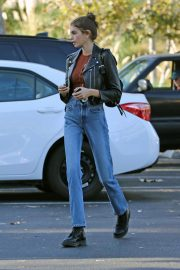 Kaia Gerber in Denim Out and About in Los Angeles 2018/10/07 7