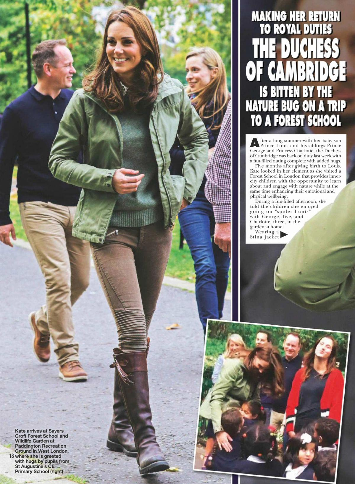 Kate Middleton in Hello Magazine UK October 2018 1