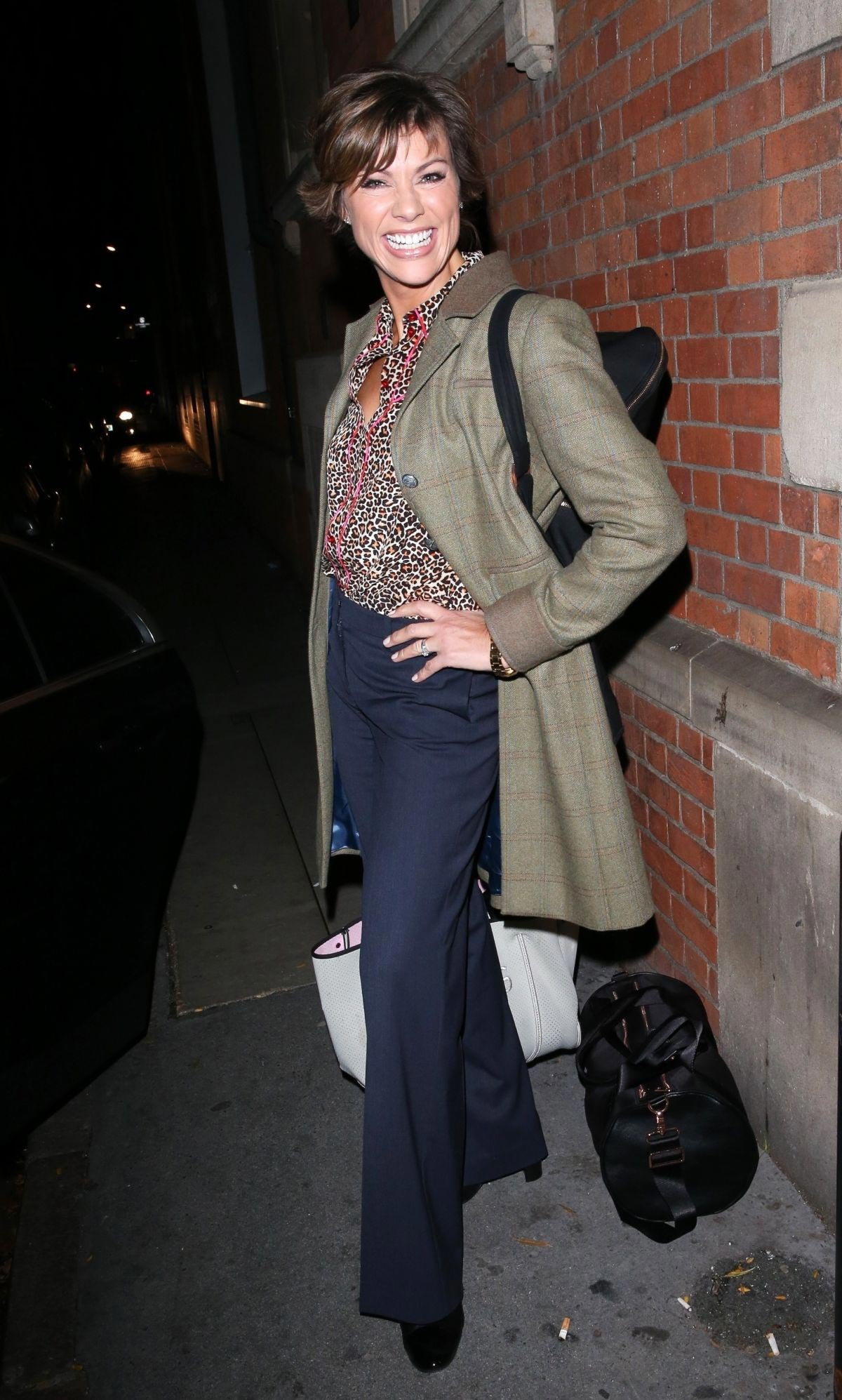 Kate Silverton Leaves Strictly Come Dancing: It Takes Two Show in London 2018/10/18 1