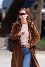Katie Holmes Out for a Coffee in New York 2018/10/04 4
